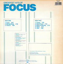Load image into Gallery viewer, Focus  ‎– Greatest Hits Of Focus