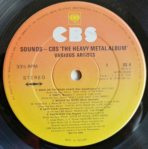 Various ‎– The Heavy Metal Album