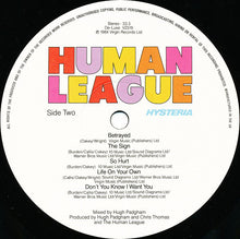 Load image into Gallery viewer, The Human League ‎– Hysteria