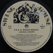 Load image into Gallery viewer, Various ‎– R & B And Boogie Woogie