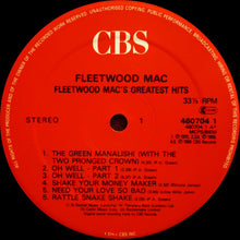 Load image into Gallery viewer, Fleetwood Mac ‎– Fleetwood Mac's Greatest Hits