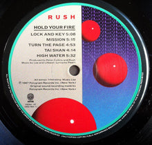 Load image into Gallery viewer, Rush ‎– Hold Your Fire