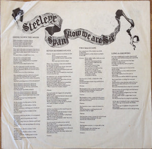 Steeleye Span ‎– Now We Are Six
