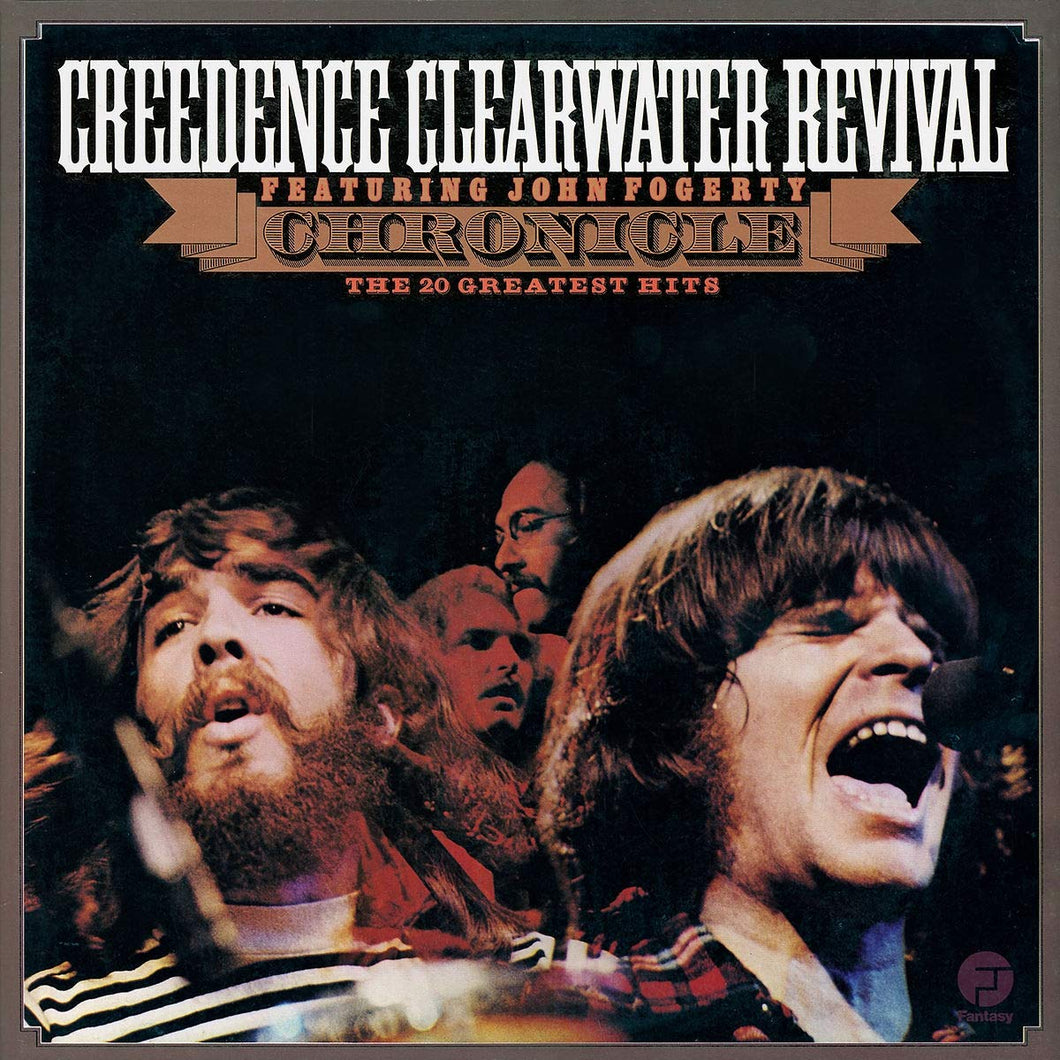 Creedence Clearwater Revival and John Fogerty ‎- Chronicle: The 20 Greatest Hits ( Vinyl )