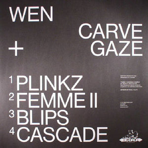 "WEN - CARVE + GAZE ( 12"" RECORD )"