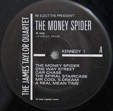 "Load image into Gallery viewer, THE JAMES TAYLOR QUARTET - THE MONEYSPYDER ( 12"" RECORD )"