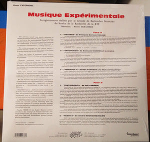 "VARIOUS ARTISTS - MUSIQUE EXPERIMENTALE ( 12"" RECORD )"