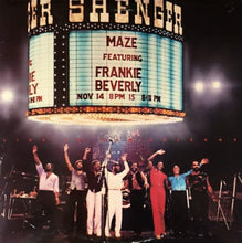 Load image into Gallery viewer, Maze Featuring Frankie Beverly ‎– Live In New Orleans
