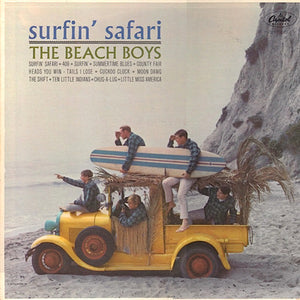 "THE BEACH BOYS - SURFIN' SAFARI ( 12"" RECORD )"