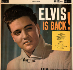 ELVIS PRESLEY - ELVIS IS BACK! ( 12