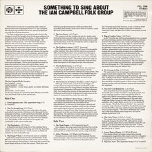 Load image into Gallery viewer, The Ian Campbell Folk Group ‎– Something To Sing About
