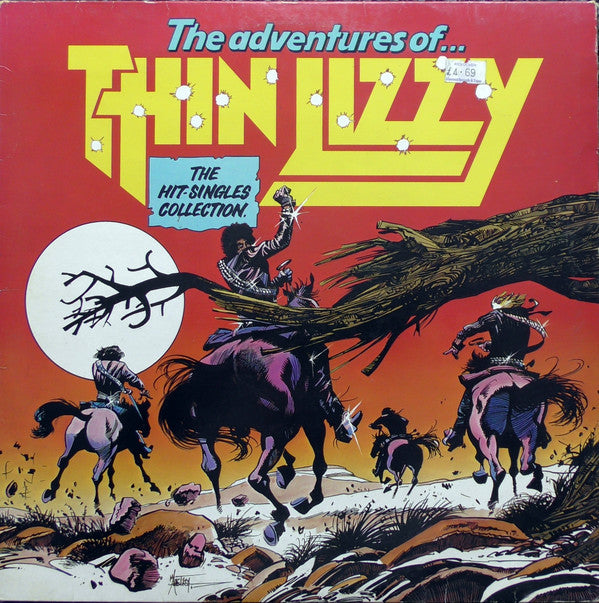 Thin Lizzy ‎– The Adventures Of Thin Lizzy (The Hit Singles Collection)