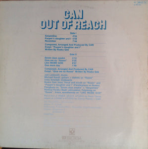 "CAN - OUT OF REACH ( 12"" RECORD )"