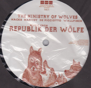 "THE MINISTRY OF WOLVES - MUSIC FROM REPUBLIK DER WOLFE ( 12"" RECORD )"