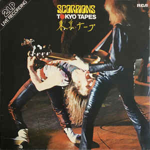 Scorpions ‎– Tokyo Tapes