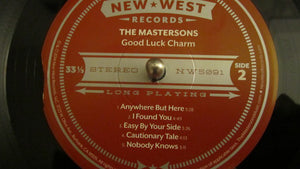 "THE MASTERSONS - GOOD LUCK CHARM ( 12"" RECORD )"