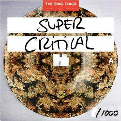 "THE TING TINGS - SUPER CRITICAL ( 12"" RECORD )"