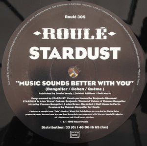 Stardust ‎– Music Sounds Better With You
