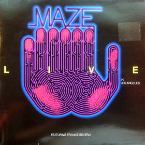 Maze Featuring Frankie Beverly ‎– Live In Los Angeles