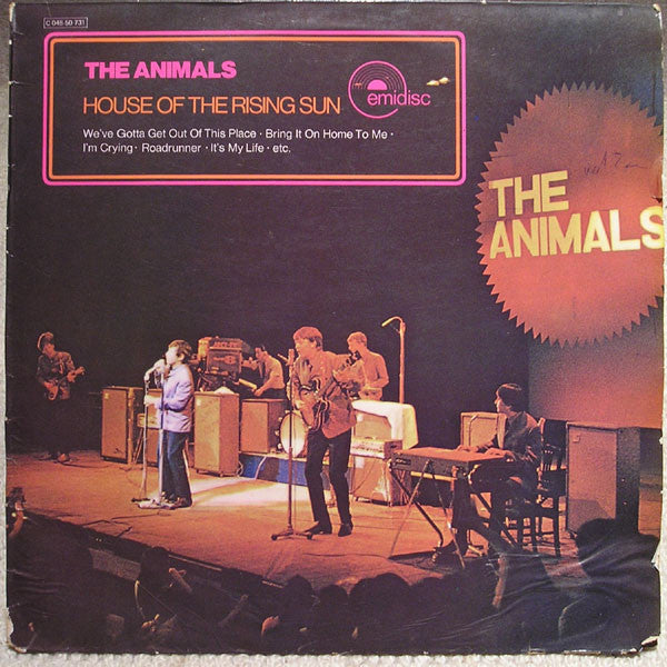 The Animals ‎– House Of The Rising Sun