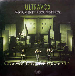 Ultravox ‎– Monument The Soundtrack