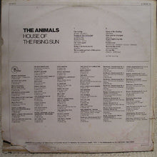 Load image into Gallery viewer, The Animals ‎– House Of The Rising Sun