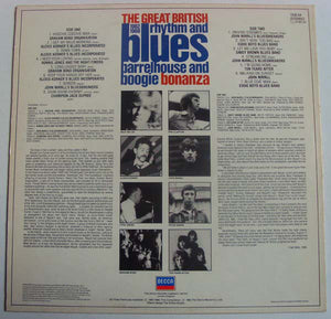 Various ‎– The Great British Rhythm And Blues Barrelhouse And Boogie Bonanza 1962-1968