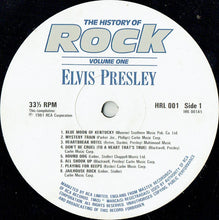 Load image into Gallery viewer, Elvis Presley ‎– The History Of Rock