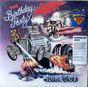 "THE BIRTHDAY PARTY - JUNKYARD ( 12"" RECORD )"