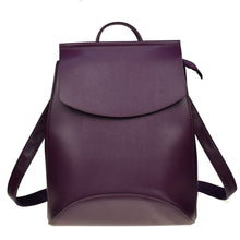 Load image into Gallery viewer, Leather Backpack - Online Women Store