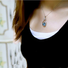 Load image into Gallery viewer, Heart Crystal Pendant Necklace - Online Women Store