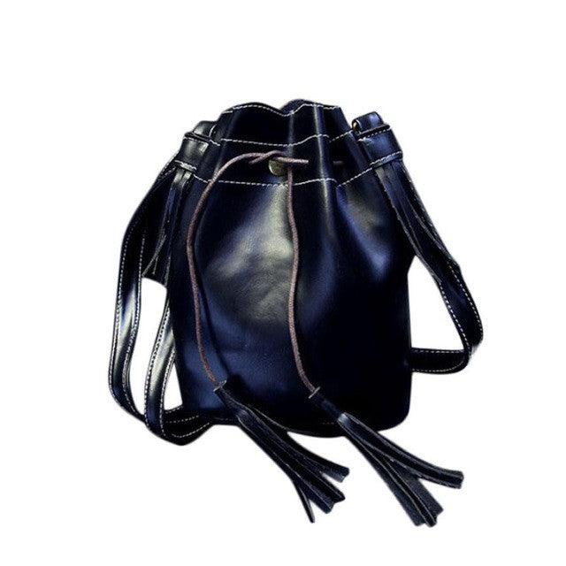 Single Strap Leather Bag - Online Women Store