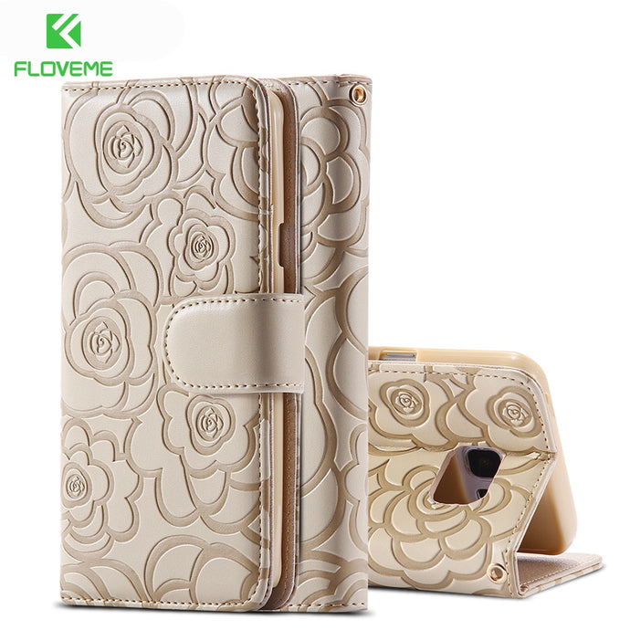 Luxury Leather Ultra Flip Cover Bags For Samsung Models - Online Women Store