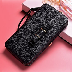 Luxury Leather Phone case - Online Women Store