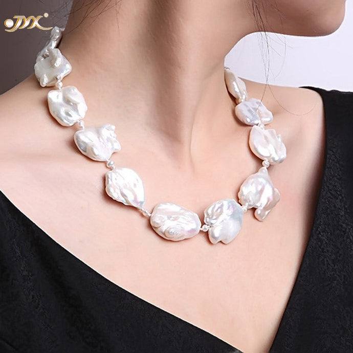 Baroque Pearl Necklace - Online Women Store