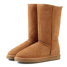 Load image into Gallery viewer, High Quality Boots Genuine Leather - Online Women Store
