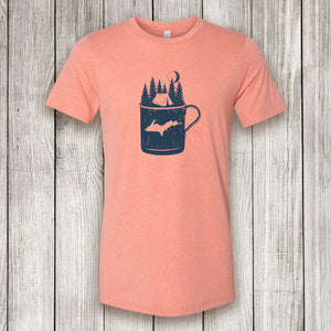 Heather Sunset Short Sleeve