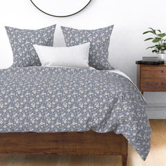 spoonflower | Vintage floral bedding by Mila & Willow