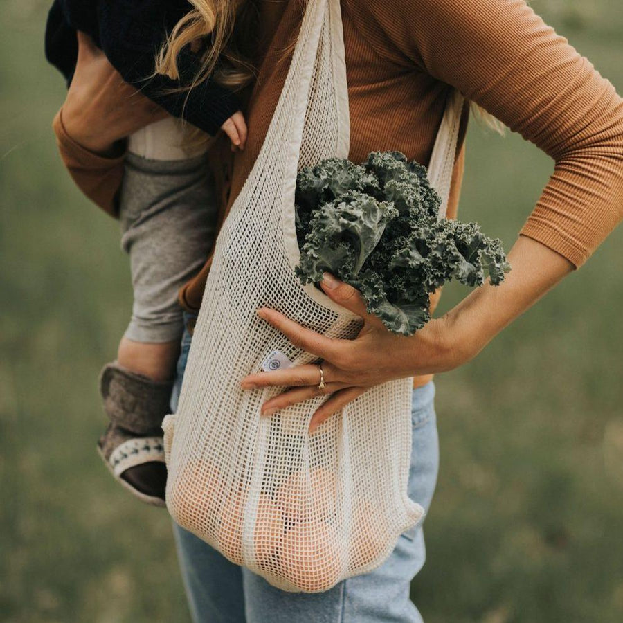 Our reusable bag 'The Tiny Companion' - Mesh version