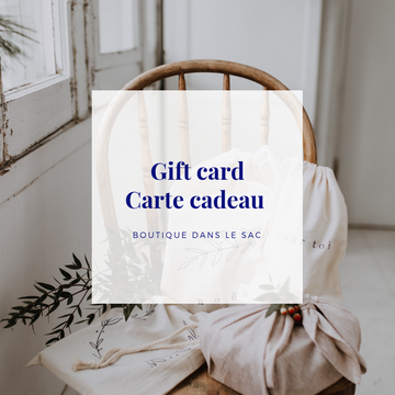 Carte cadeau virtuelle