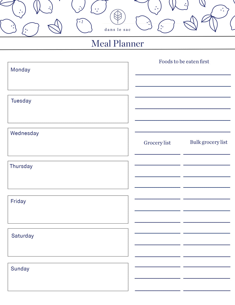 Meal Planner - free download