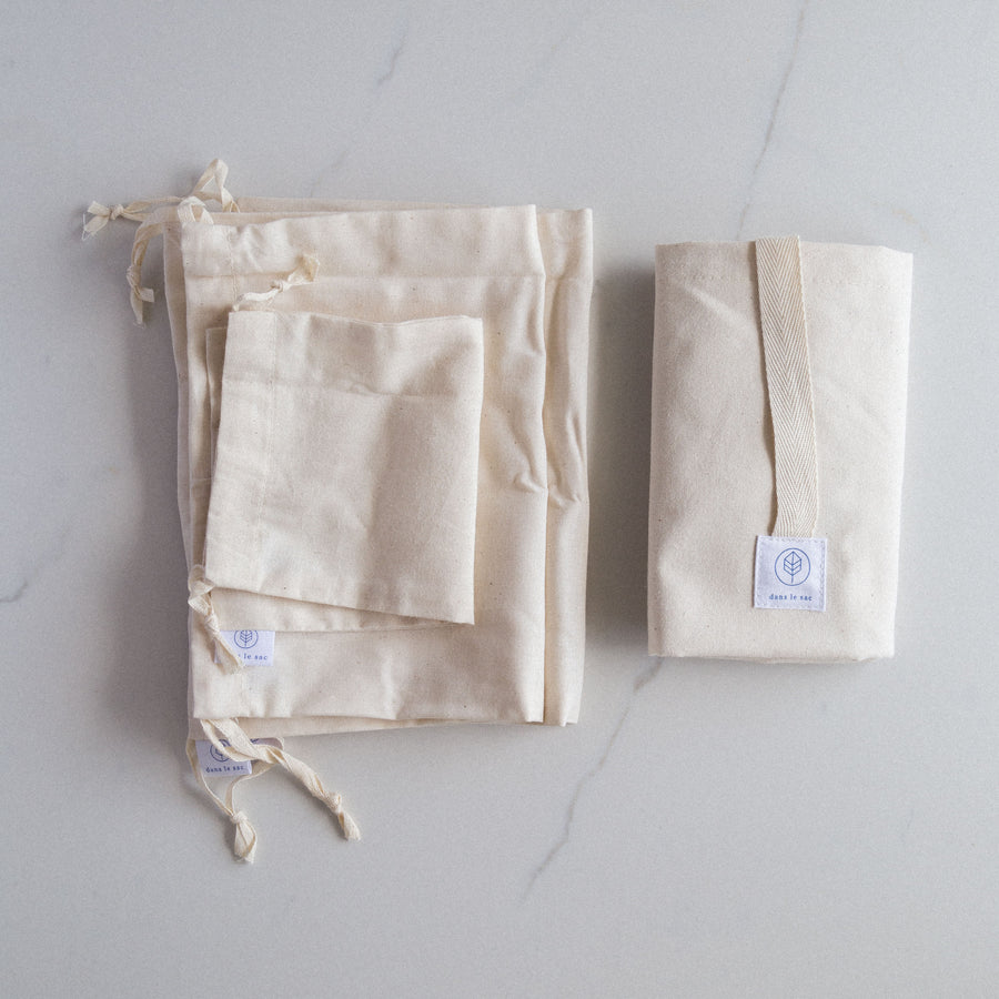 reusable bulk bag cotton zero waste