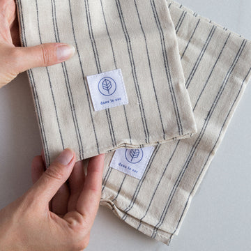 reusable napkin cotton hemp