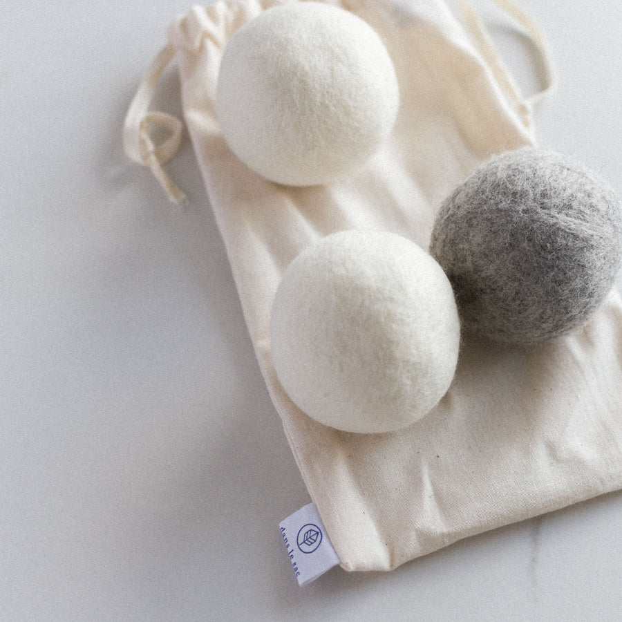 Dryer ball wool