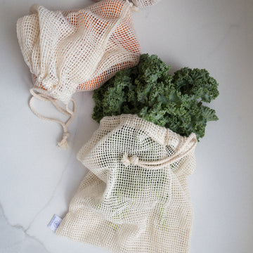 mesh bag cotton
