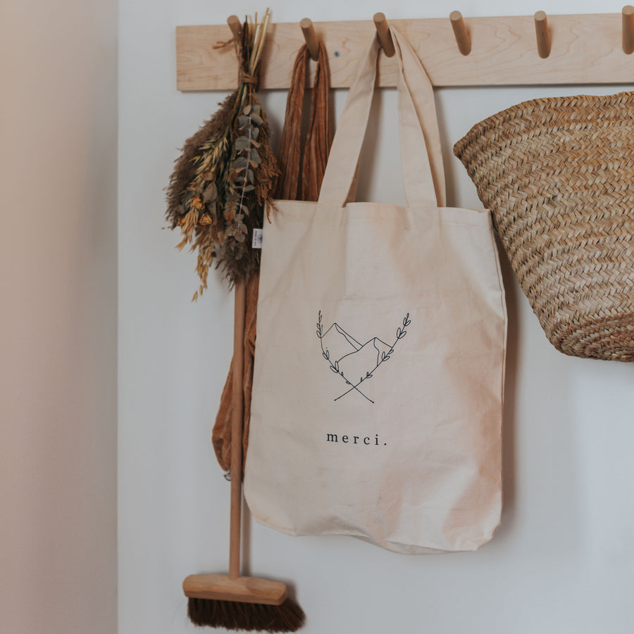 The Market Bag «Merci»
