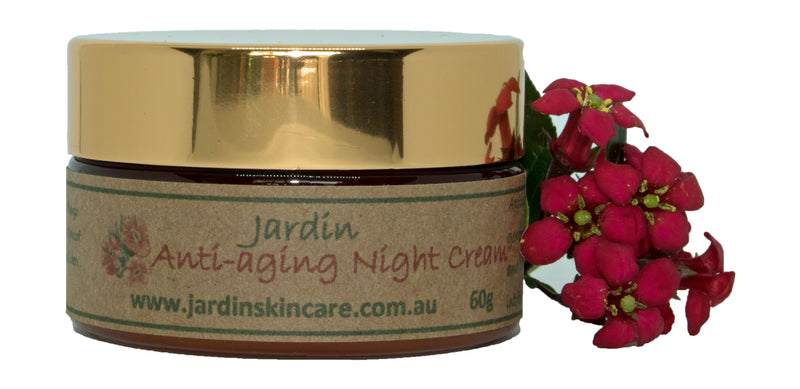 SANDALWOOD & ROSE ANTI-AGING NIGHT CREAM   -  60g