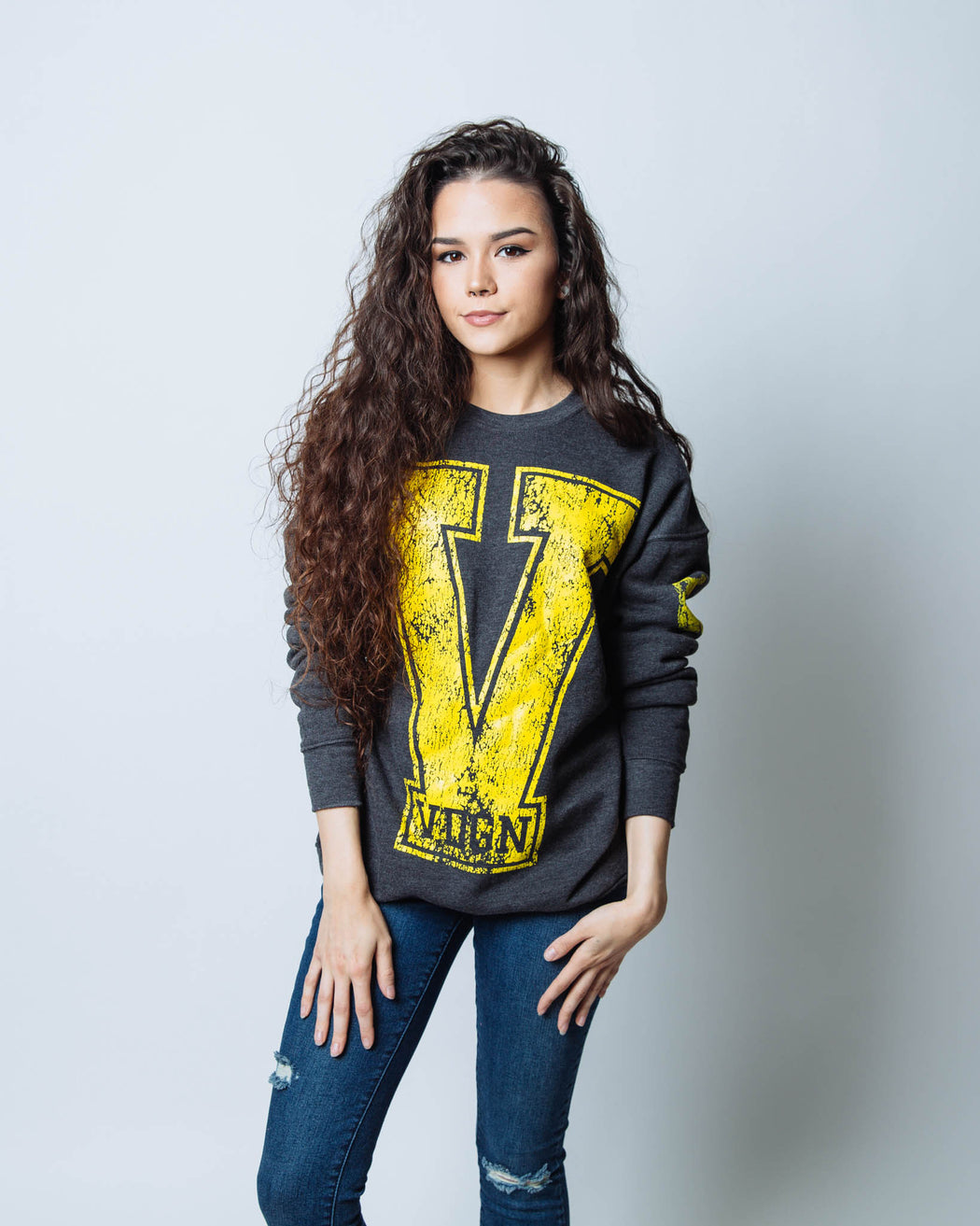 The BIG V Sweatshirt