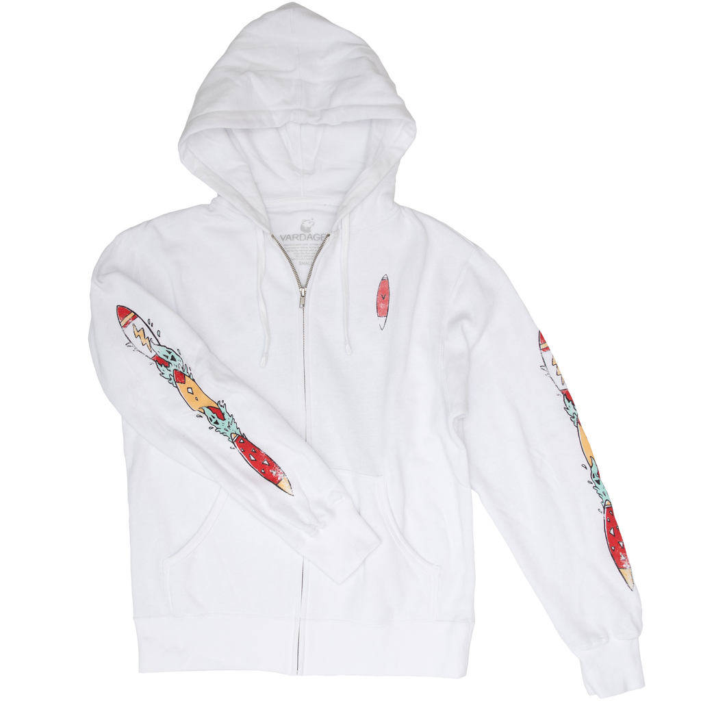 Ghost Wave Zip Up