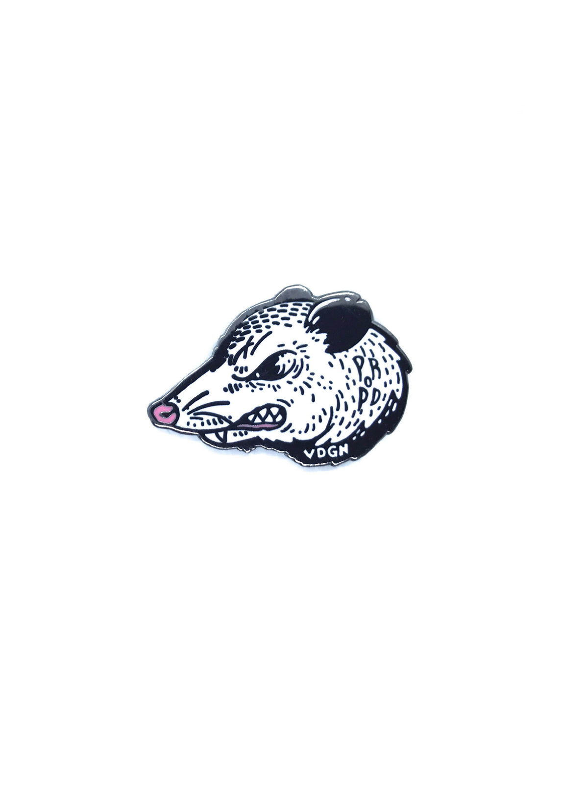 Play Rough Opossum Pin